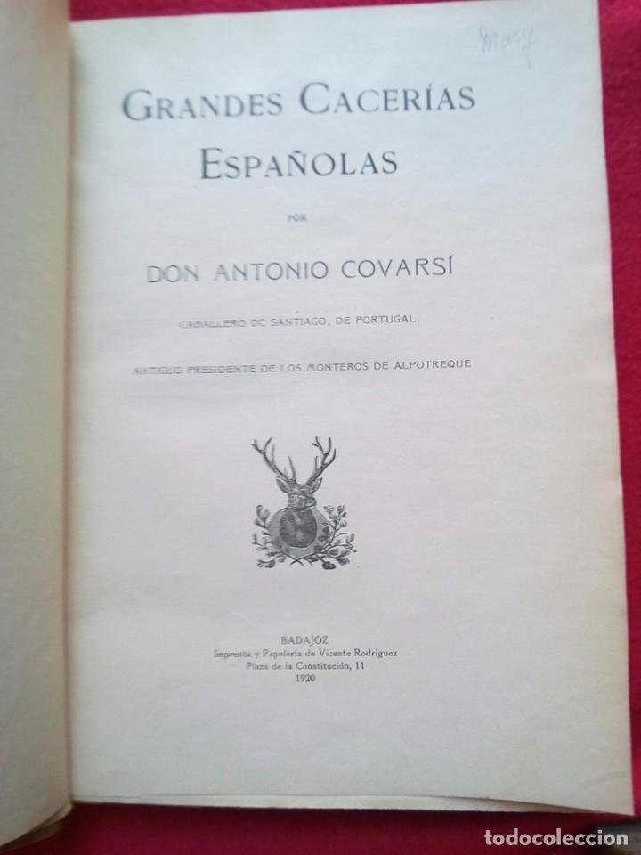Libros antiguos: 1910 CAZA NARRACIONES DE UN MONTERO GRANDES CACERIAS ESPAÑOLAS CINEGETICA 3 TOMOS 26 CMS - Foto 15 - 91607390