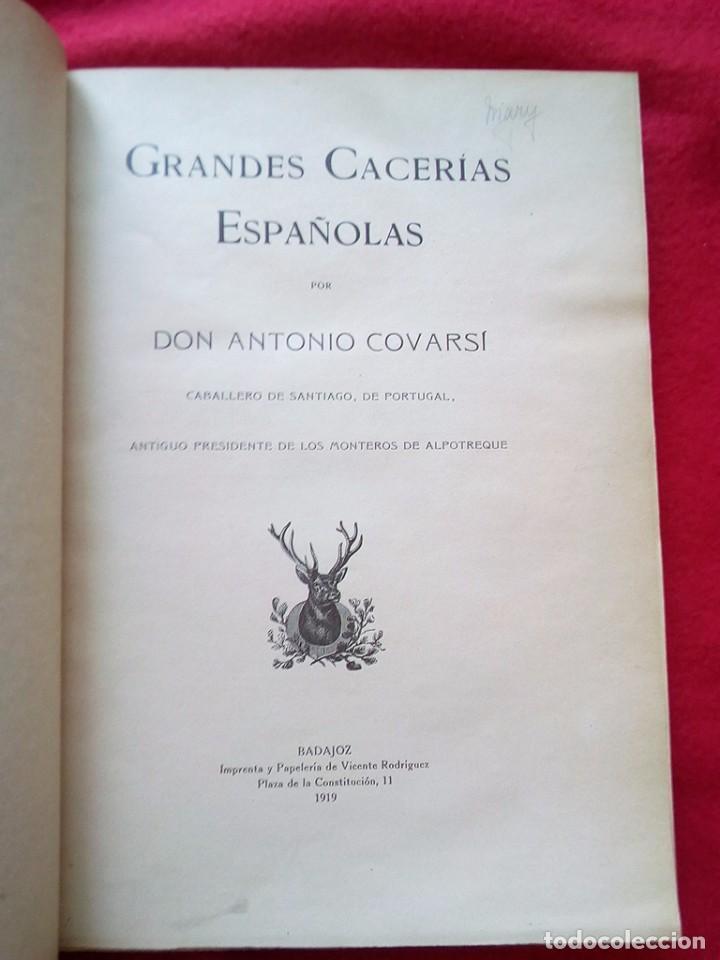 Libros antiguos: 1910 CAZA NARRACIONES DE UN MONTERO GRANDES CACERIAS ESPAÑOLAS CINEGETICA 3 TOMOS 26 CMS - Foto 16 - 91607390