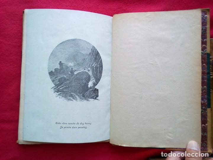 Libros antiguos: 1910 CAZA NARRACIONES DE UN MONTERO GRANDES CACERIAS ESPAÑOLAS CINEGETICA 3 TOMOS 26 CMS - Foto 18 - 91607390