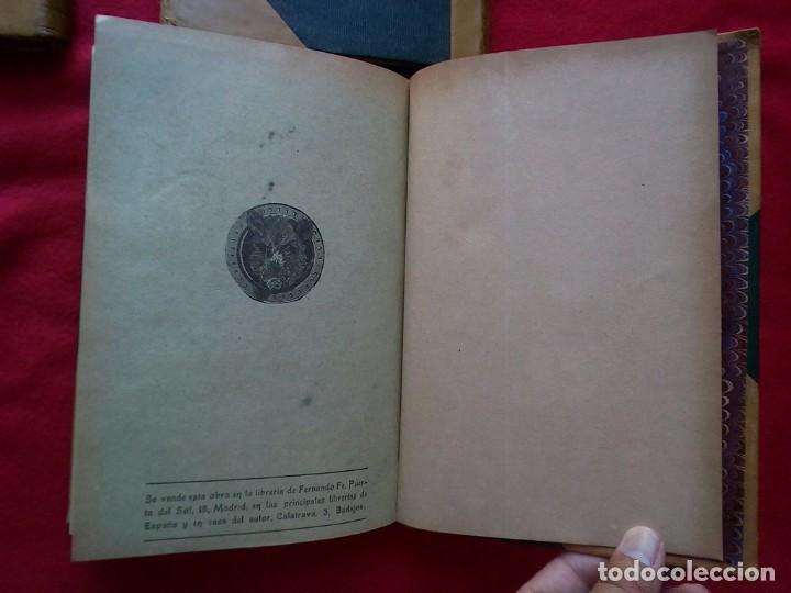 Libros antiguos: 1910 CAZA NARRACIONES DE UN MONTERO GRANDES CACERIAS ESPAÑOLAS CINEGETICA 3 TOMOS 26 CMS - Foto 20 - 91607390