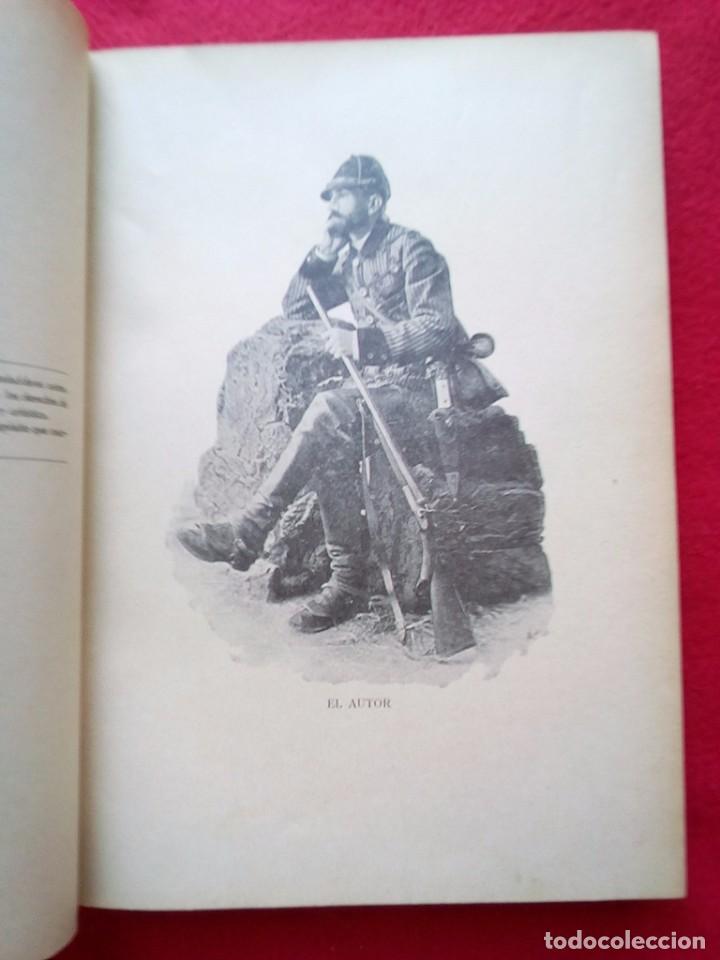 Libros antiguos: 1910 CAZA NARRACIONES DE UN MONTERO GRANDES CACERIAS ESPAÑOLAS CINEGETICA 3 TOMOS 26 CMS - Foto 21 - 91607390
