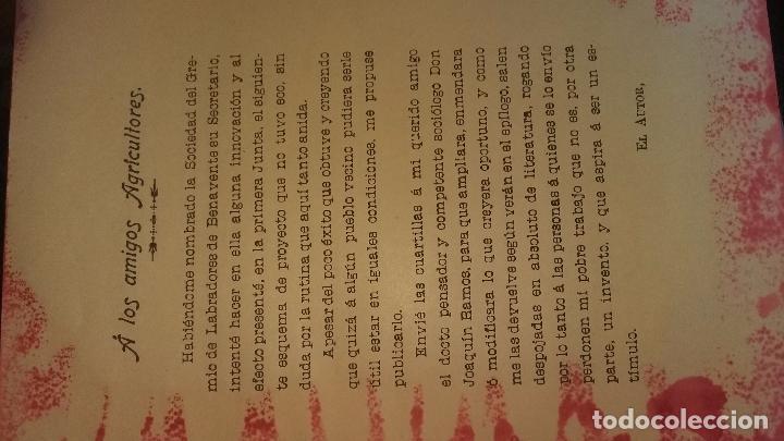 Libros antiguos: COOPERACION AGRICOLA BENITO LEON GREMIO LABRADORES DE BENAVENTE ZAMORA 1908.16 PG - Foto 4 - 91705650
