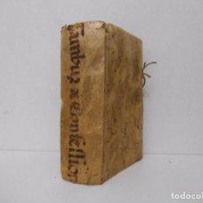 Libros antiguos: METHODUS EXPEDITAE CONFESSIONIS - 1666 - TAMBURINI - PERGAMINO - TEMPRANA EDICIÓN. Lote 91795285