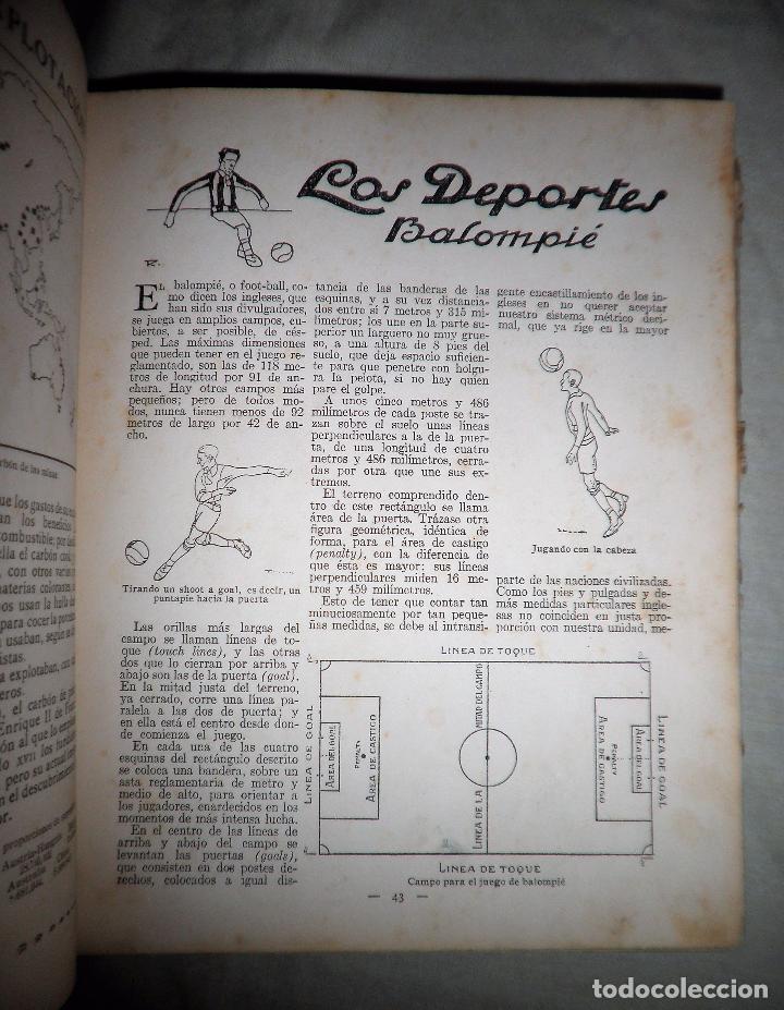 Libros antiguos: LIBRO DE VACACIONES - EDITORIAL MUNTAÑOLA AÑO 1920 - MUY ILUSTRADO. - Foto 5 - 91848635