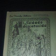Libros antiguos: EL SOLDADO DESCONOCIDO POR A FOSSATI CUADERNILLO 1930 LE FALTAN 5 NUMEROS. Lote 197273307