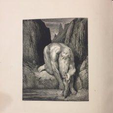 Libros antiguos: DANTE ALIGHIERI . LA DIVINE COMÉDIE. L' ENFER. Lote 76276618