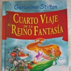 Libros antiguos: CUARTO VIAJE AL REINO DE LA FANTASIA. Lote 91941480