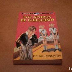 Libros antiguos: LOS APUROS DE GUILLERMO. Lote 92011580