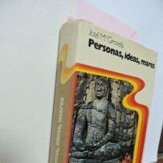 Libros antiguos: PERSONAS, IDEAS, MARES. GIRONELLA, JOSE MARIA. ED. PLANETA. BARCELONA 1977. Lote 92084335