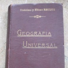 Libros antiguos: NOVISIMA GEOGRAFIA UNIVERSAL - TOMO V - AMERICA CENTRAL Y DEL SUR.. Lote 92218870