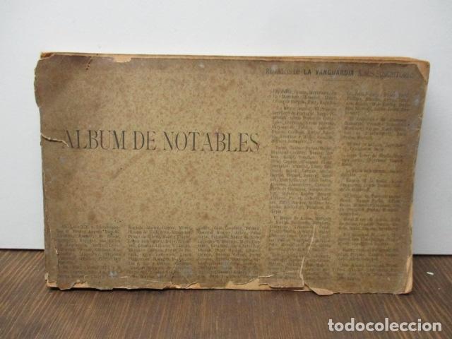 ALBUM DE NOTABLES - AÑO 1898 (Libros Antiguos, Raros y Curiosos - Historia - Otros)