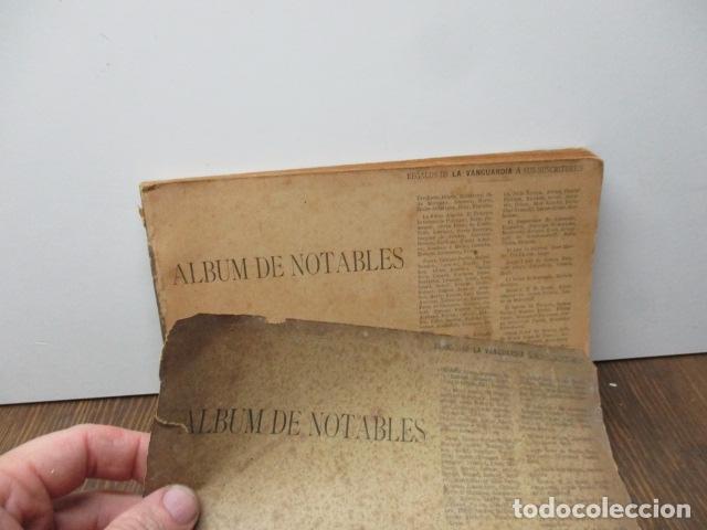 Libros antiguos: ALBUM DE NOTABLES - AÑO 1898 - Foto 2 - 92295125