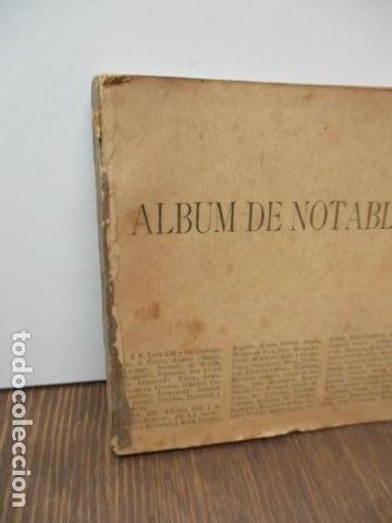Libros antiguos: ALBUM DE NOTABLES - AÑO 1898 - Foto 3 - 92295125