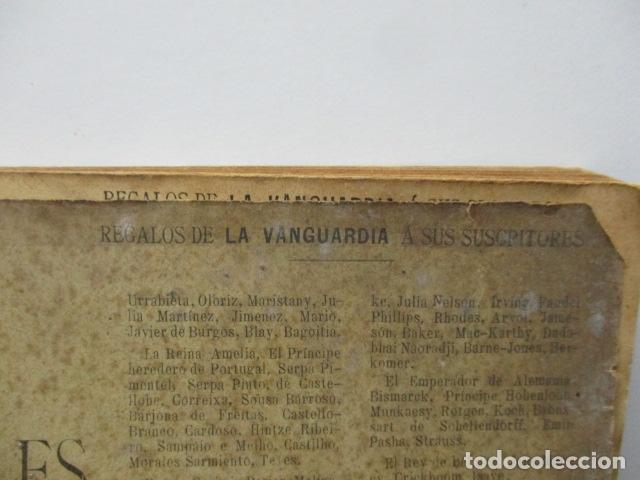 Libros antiguos: ALBUM DE NOTABLES - AÑO 1898 - Foto 4 - 92295125