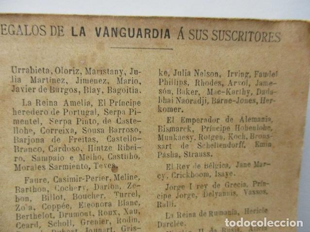 Libros antiguos: ALBUM DE NOTABLES - AÑO 1898 - Foto 7 - 92295125