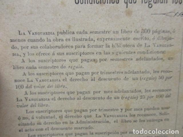 Libros antiguos: ALBUM DE NOTABLES - AÑO 1898 - Foto 9 - 92295125