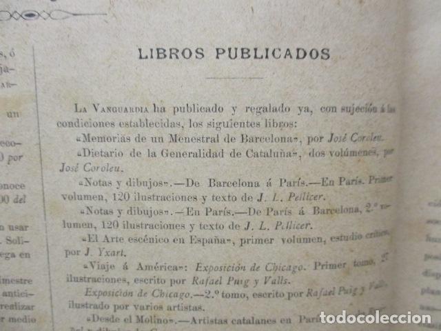 Libros antiguos: ALBUM DE NOTABLES - AÑO 1898 - Foto 11 - 92295125