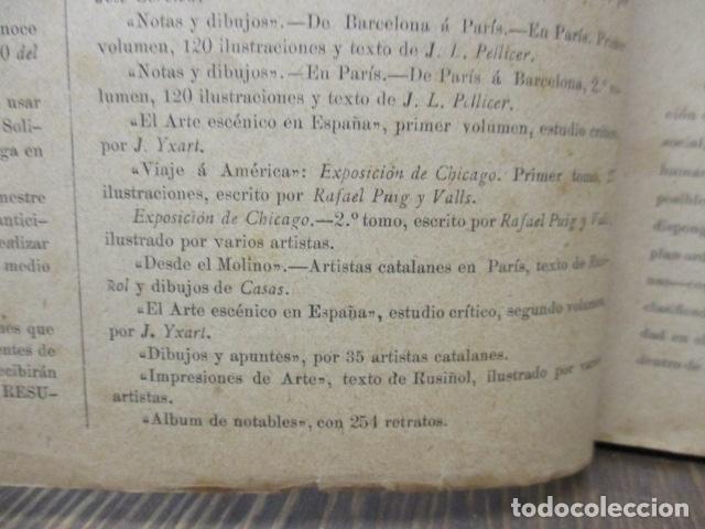 Libros antiguos: ALBUM DE NOTABLES - AÑO 1898 - Foto 12 - 92295125