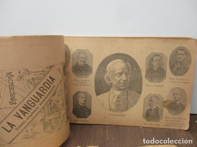 Libros antiguos: ALBUM DE NOTABLES - AÑO 1898 - Foto 13 - 92295125