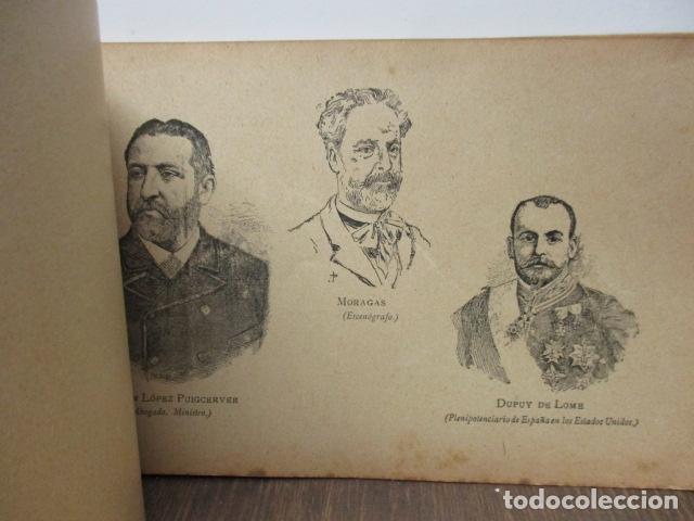 Libros antiguos: ALBUM DE NOTABLES - AÑO 1898 - Foto 16 - 92295125
