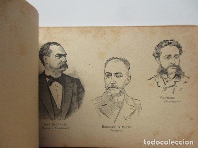 Libros antiguos: ALBUM DE NOTABLES - AÑO 1898 - Foto 17 - 92295125