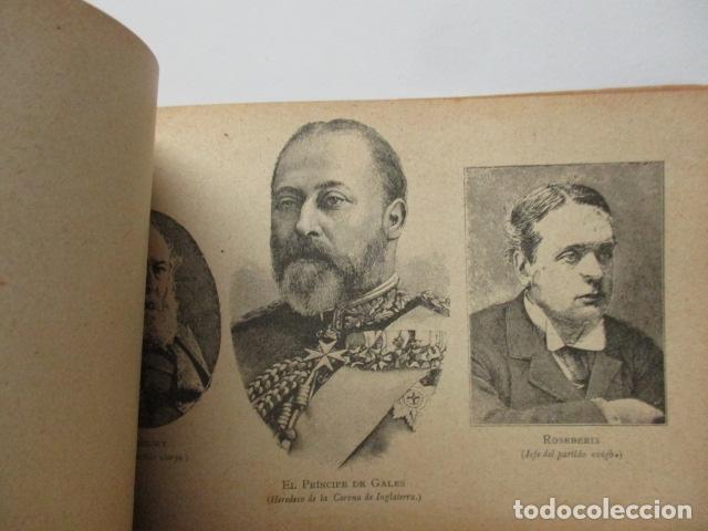 Libros antiguos: ALBUM DE NOTABLES - AÑO 1898 - Foto 21 - 92295125