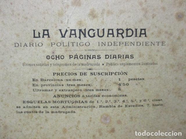 Libros antiguos: ALBUM DE NOTABLES - AÑO 1898 - Foto 28 - 92295125