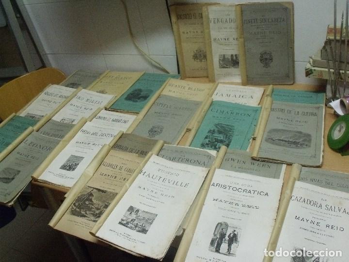 Capitan mayne reid 28 obras seix editor trilla comprar - Libros antiguos valor ...