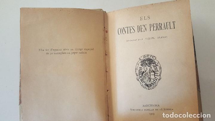 Libros antiguos: ELS CONTES DEN PERRAULT-1909-MIGUEL I PLANAS-BIBLI.POPULAR LAVENç - Foto 2 - 92463635