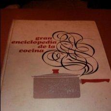 Libros antiguos: GRAN ENCICLOPEDIA DE LA COCINA. Lote 92498450