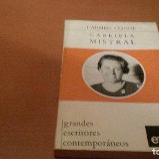 Libros antiguos: GABRIELA MISTRAL. Lote 92499665