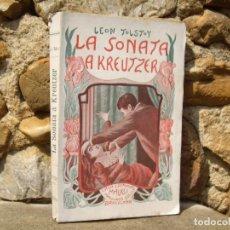 Libros antiguos: CONDE LEÓN TOLSTOY: LA SONATA A KREUTZER, 1ªED.1902 MAUCCI. Lote 92824450