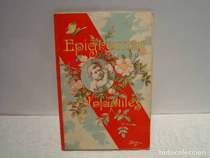 EPIGRAMAS INFANTILES - MANUEL OSSORIO- ILUSTRADO LLAVERIAS - BIBLIOTECA IBERO-AMERICANA 1923 (Libros Antiguos, Raros y Curiosos - Literatura Infantil y Juvenil - Otros)