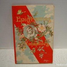 Libros antiguos: EPIGRAMAS INFANTILES - MANUEL OSSORIO- ILUSTRADO LLAVERIAS - BIBLIOTECA IBERO-AMERICANA 1923. Lote 92958425
