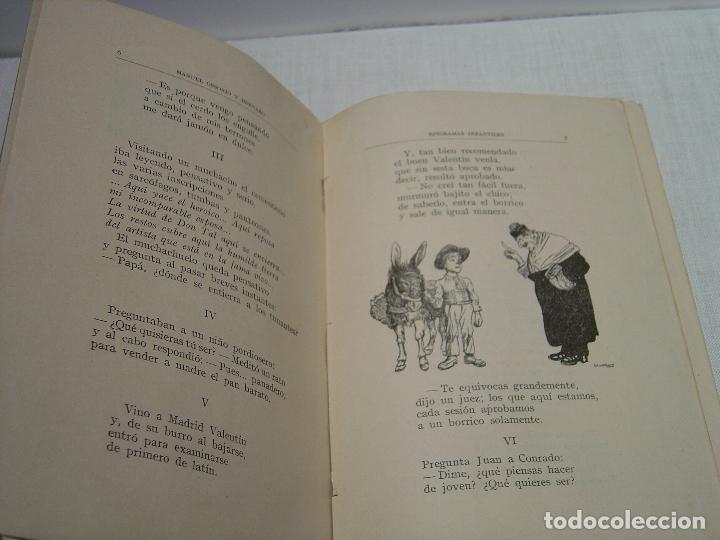 Libros antiguos: EPIGRAMAS INFANTILES - MANUEL OSSORIO- ILUSTRADO LLAVERIAS - BIBLIOTECA IBERO-AMERICANA 1923 - Foto 5 - 92958425
