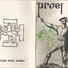 Libros antiguos: O. J. E. ORGANIZACION JUVENIL ESPAÑOLA PROEL FLECHA O ARQUERO AIRE LIBRE 2 CARTOGRAFO. Lote 92974820