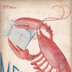 Libros antiguos: MENAGE Nº 44 SEPTIEMBRE 1934. Lote 93073380