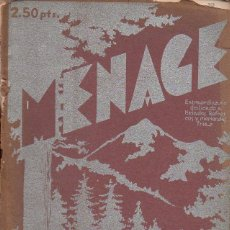 Libros antiguos: MENAGE Nº 29 JUNIO 1935. Lote 93073895
