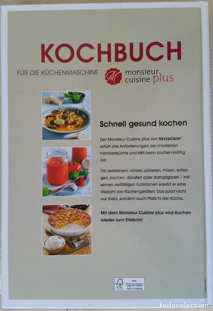 Kochbuch Fur Die Kuchenmaschine Monsieur Cuis Comprar Libros