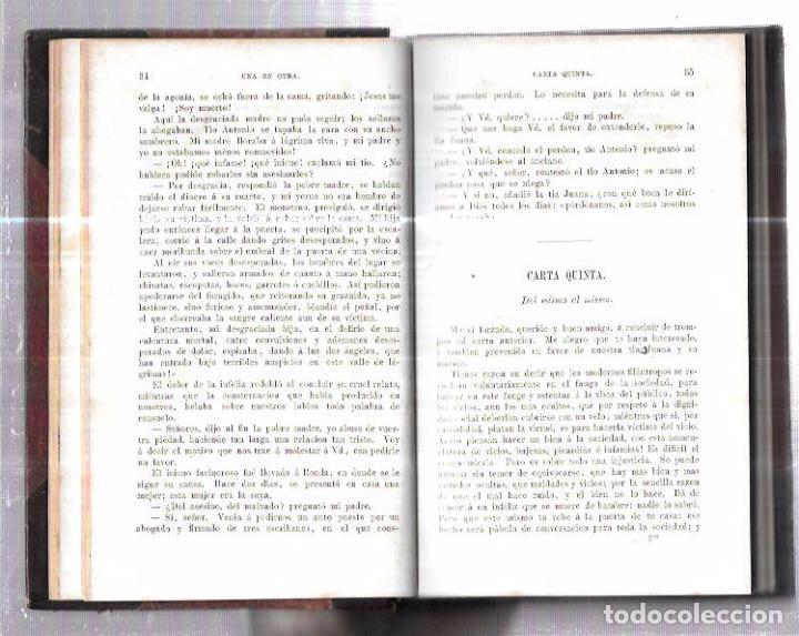 Libros antiguos: CUATRO NOVELAS. FERNAN CABALLERO. LEIPZIG: F. A. BROCKHAUS. 1874. 317 PAGINAS. 18,6X12,5 CM - Foto 7 - 93237415