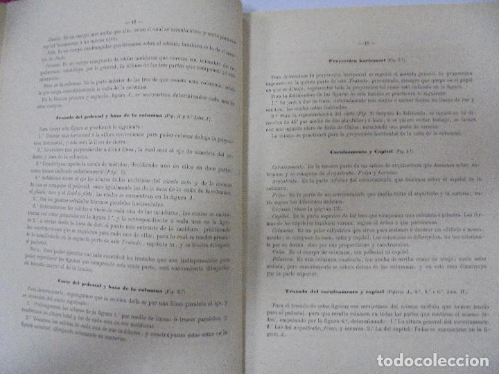 Libros antiguos: TRATADO TEÓRICO Y PRÁCTICO DE DIBUJO CON APLICACIONES A LAS ARTES Y A LA INDUSTRIA. M. BORRELL. 1869 - Foto 7 - 93252280