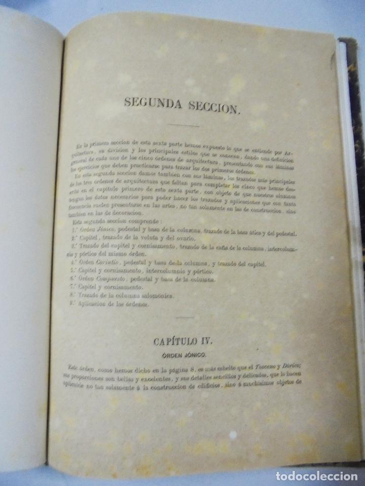 Libros antiguos: TRATADO TEÓRICO Y PRÁCTICO DE DIBUJO CON APLICACIONES A LAS ARTES Y A LA INDUSTRIA. M. BORRELL. 1869 - Foto 11 - 93252280
