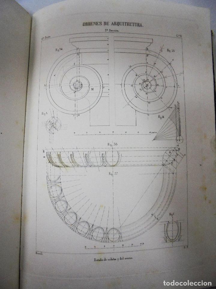 Libros antiguos: TRATADO TEÓRICO Y PRÁCTICO DE DIBUJO CON APLICACIONES A LAS ARTES Y A LA INDUSTRIA. M. BORRELL. 1869 - Foto 13 - 93252280
