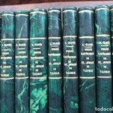 Libros antiguos: FULLES HISTÒRIQUES DE ST. ANDREU DEL PALOMAR.. Lote 93265370