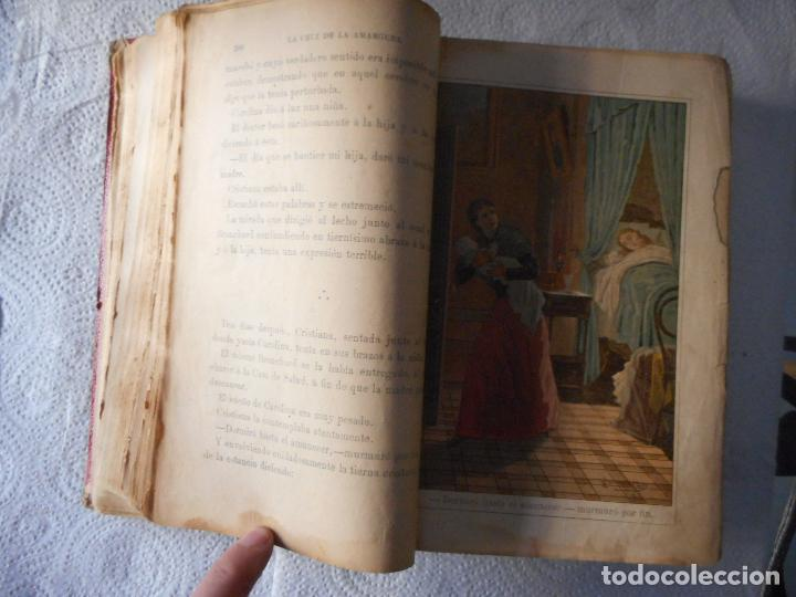 Libros antiguos: La Cruz de la Amargura o La mártir de su honra. Editorial Antonio Virgill. 1184 pág. Final siglo XIX - Foto 2 - 93281925
