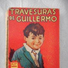 Libros antiguos: TRAVESURAS DE GUILLERMO. RICHMAL CROMPTON. EDITORIAL MOLINO. 272 PÁGINAS. 1935. Lote 93368300