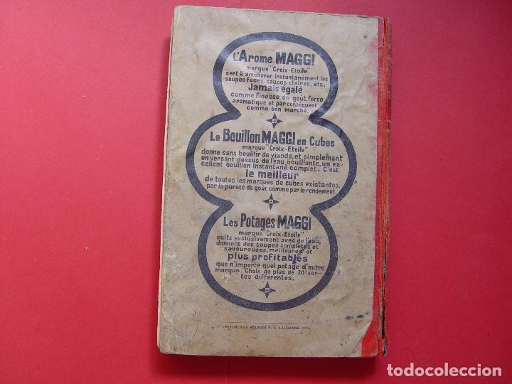 Libros antiguos: G. Hayward: MANUEL DE CUISINE (Payot, 1913) Cocina ¡ORIGINAL! ¡Coleccionista! - Foto 2 - 93390915