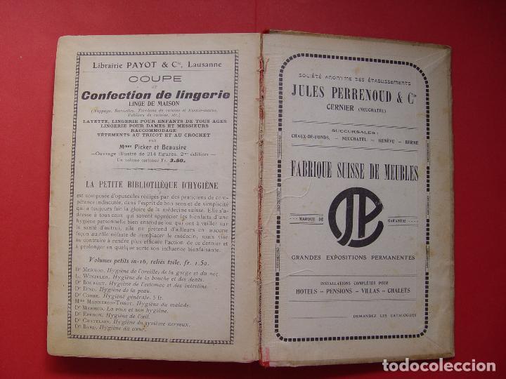 Libros antiguos: G. Hayward: MANUEL DE CUISINE (Payot, 1913) Cocina ¡ORIGINAL! ¡Coleccionista! - Foto 6 - 93390915
