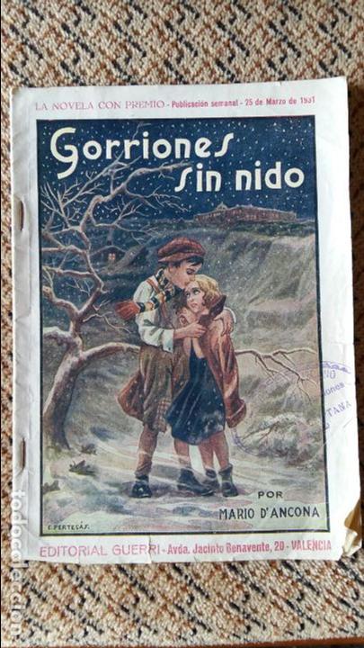 638e258ac3c349 4 fotos GORRIONES SIN NIDO POR MARIO D'ANCONA. PUBLICACION SEMANAL 25 MARZO  1931 (Libros ...