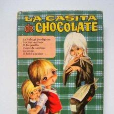 Livres anciens: LA CASITA DE CHOCOLATE (CON 160 ILUSTRACIONES) BRUGUERA 1966 (COLECCION HEIDI). Lote 93594365
